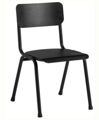 Quigon Stacking Chair RAL Black 9005