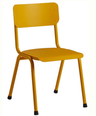 Quigon Stacking Chair RAL Yellow 1018