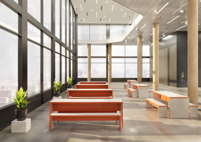 Mora Designer Dining Benches - Mood Shot
