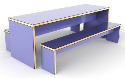 Purple Mora Designer Benches