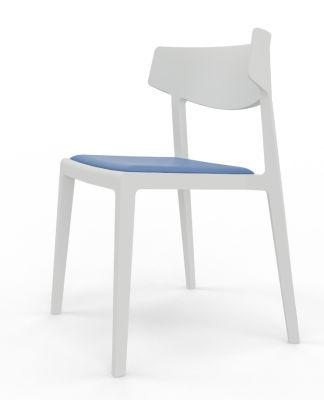 Glide No Seat Pad In White Blue Seat