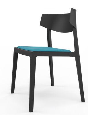 Glide Seat Pad In Blue Black