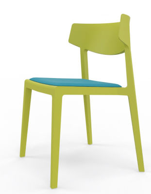 Glide Seat Pad In Green Blue Seat