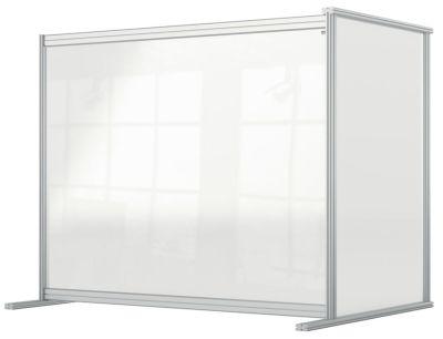 Modular Acrylic Desk Divider Screen Extension 2