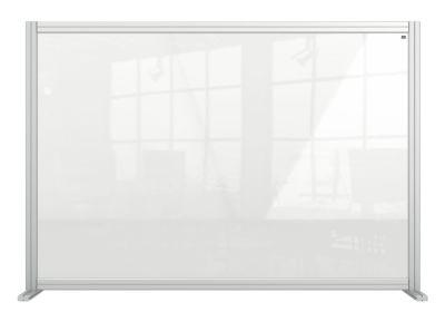 Modular Acrylic Desk Divider Screen 2