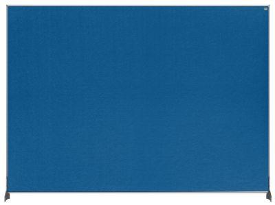 Premium Felt Desk Divider Screen Blue