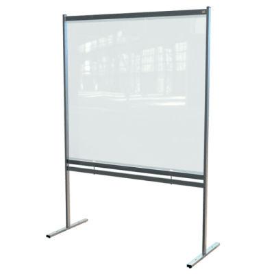 Deluxe PVC Floorstanding Screen Divider 3