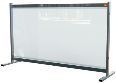 Deluxe PVC Freestanding Desk Divider Screen 1