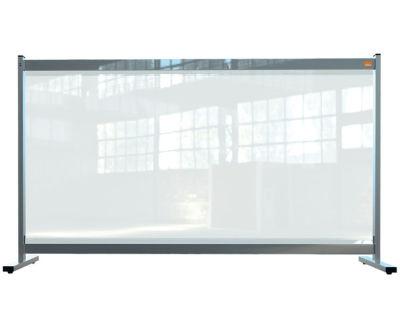 Deluxe PVC Freestanding Desk Divider Screen 3