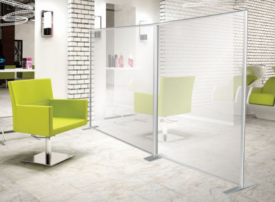Protect Acrylic Screen Standing Mood Office