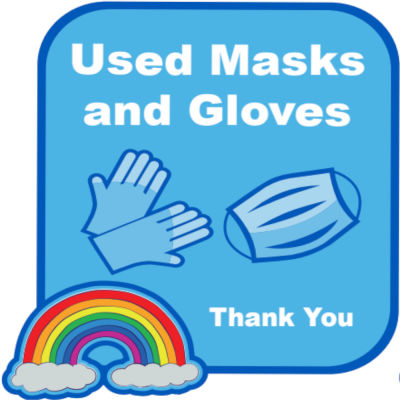 Used Masks And Gloves