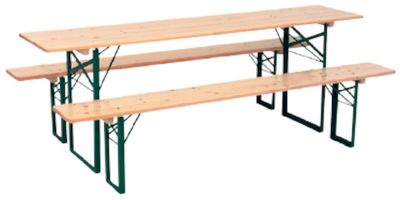 BEER TABLE BANKET AND BENCHES