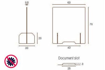 Privacy Screens Dimensions