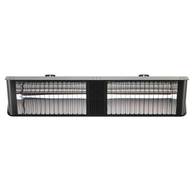 Umbra Double Chunk Heater Black Off Front