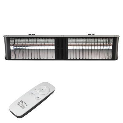 Umbra Double Chunk Heater Black Remote Front Off