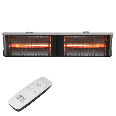 Umbra Double Chunk Heater Black Remote Front On