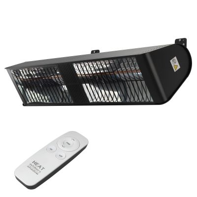 Umbra Double Chunk Heater Black Remote Off