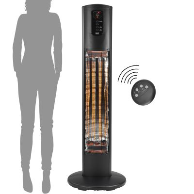 Umbra Standing Heater Remote & Scale On