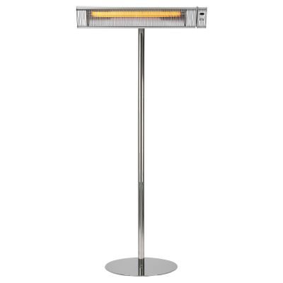 Umbra 3kW Carbon Heater Silver With SS Stand Front