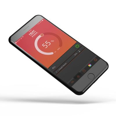 Umbra 2kW Patio Heater With Bluetooth Speakers App