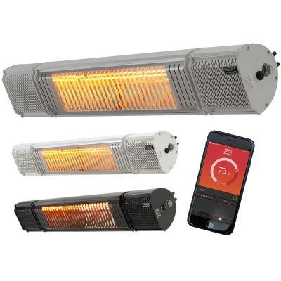 Umbra 2kW Patio Heater With Bluetooth Speakers Range