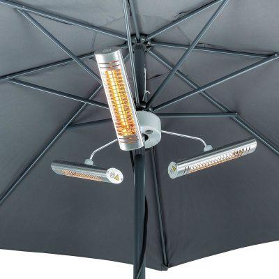 UPH18 Umbra 3kW Parasol Heater Angle