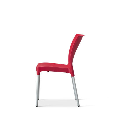 Vibe – Side Chair – Red (1)