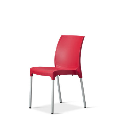 Vibe – Side Chair – Red (2)