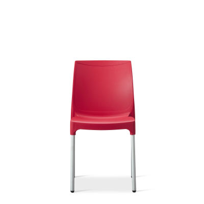 Vibe – Side Chair – Red (3)