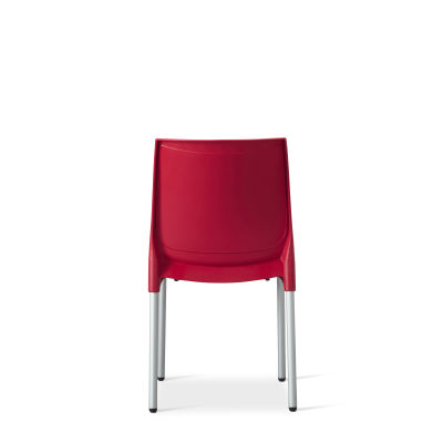 Vibe – Side Chair – Red