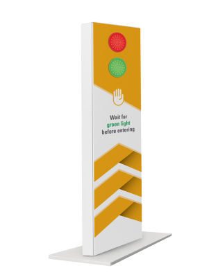 Cafe Reality Outdoor Traffic Lite Totem