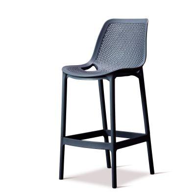 Cruz - Bar Chair- Dark Grey II