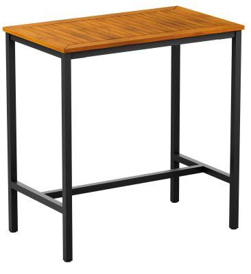 Kendo Rectangular Bar Height Table