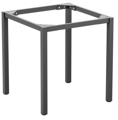 Paris Square Table Base In Grey
