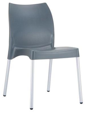 Belle Chair In Dark Grey