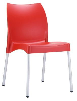 Belle Chair In Red