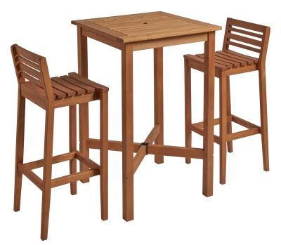 Trafford Two Person Bar Height Dining Set