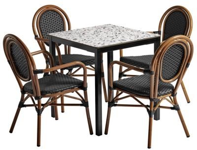 Formosa Four Person Outdoor Dining Set