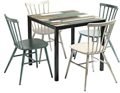 Coral Four Person Outdoor Dining Set
