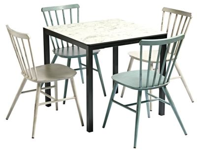 Coral Four Person Outdoor Diniong Set 2