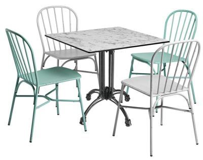 Jessie Four Person Outdoor Dining Set