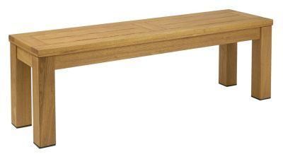 Deano Wooden Bench In An Oiled Finish