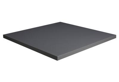 Jenta Square MFC Table Top - Graphite Grey