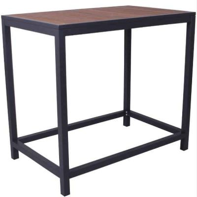Brewer Bar Height Ytable With An Anthracite Frame