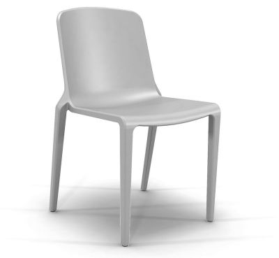 Hatton Stacking Chair - Ash Grey