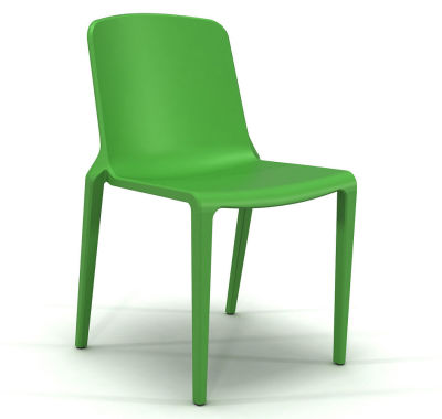 Hatton Stacking Chair - Parrot Green