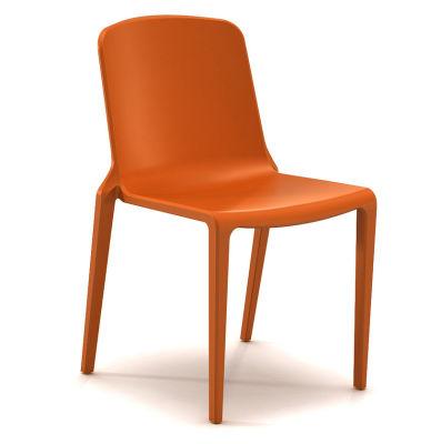 Hatton Stacking Chair - Tangerine Fizz