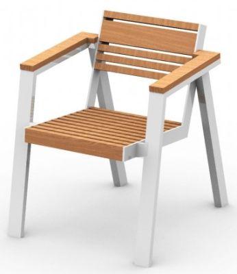 Abak Outdoor Stackable Armchair