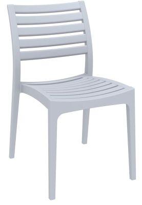 Stuart Outdoor Side Chair Oin Silver Grey