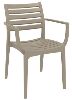Stuart Outdoor Armchair In Taupe